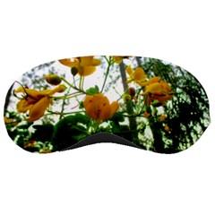 Yellow Flowers Sleeping Mask