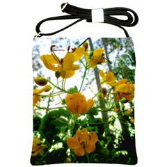 Yellow Flowers Shoulder Sling Bag