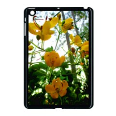 Yellow Flowers Apple Ipad Mini Case (black)