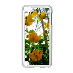 Yellow Flowers Apple iPod Touch 5 Case (White)