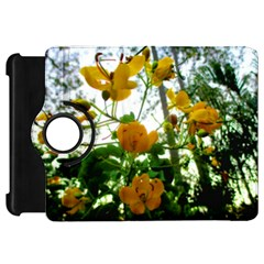 Yellow Flowers Kindle Fire HD 7  (1st Gen) Flip 360 Case