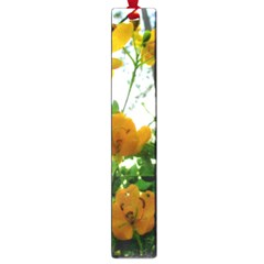 Yellow Flowers Large Bookmark