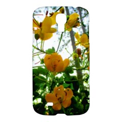Yellow Flowers Samsung Galaxy S4 I9500/i9505 Hardshell Case