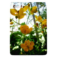 Yellow Flowers Removable Flap Cover (Large)