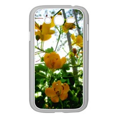 Yellow Flowers Samsung Galaxy Grand DUOS I9082 Case (White)