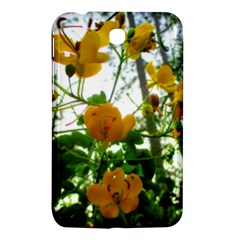 Yellow Flowers Samsung Galaxy Tab 3 (7 ) P3200 Hardshell Case