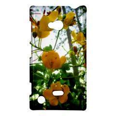 Yellow Flowers Nokia Lumia 720 Hardshell Case