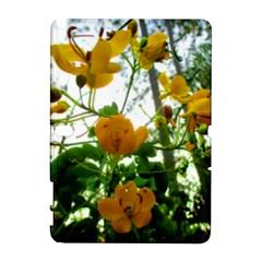 Yellow Flowers Samsung Galaxy Note 10 1 (p600) Hardshell Case