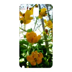Yellow Flowers Samsung Galaxy Note 3 N9005 Hardshell Back Case