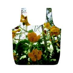 Yellow Flowers Reusable Bag (M)