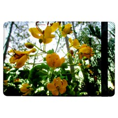 Yellow Flowers Apple iPad Air Flip Case