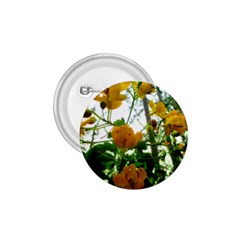 Yellow Flowers 1.75  Button
