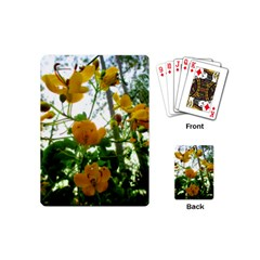 Yellow Flowers Playing Cards (Mini)