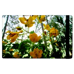 Yellow Flowers Apple Ipad 2 Flip Case