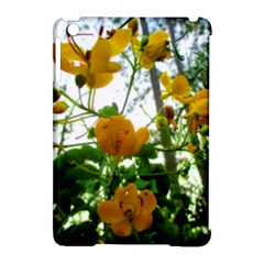 Yellow Flowers Apple iPad Mini Hardshell Case (Compatible with Smart Cover)