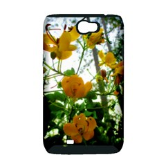Yellow Flowers Samsung Galaxy Note 2 Hardshell Case (PC+Silicone)