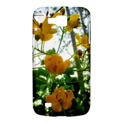 Yellow Flowers Samsung Galaxy Premier I9260 Hardshell Case