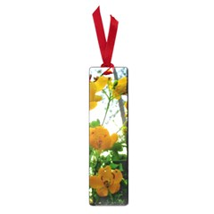 Yellow Flowers Small Bookmark