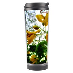 Yellow Flowers Travel Tumbler