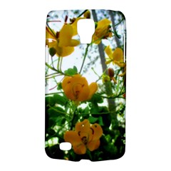 Yellow Flowers Samsung Galaxy S4 Active (I9295) Hardshell Case