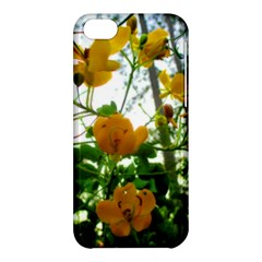 Yellow Flowers Apple Iphone 5c Hardshell Case