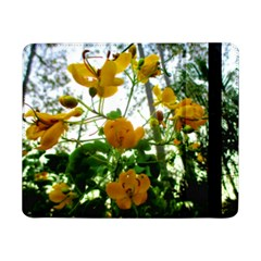 Yellow Flowers Samsung Galaxy Tab Pro 8 4  Flip Case