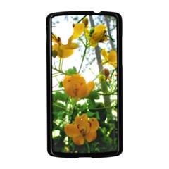 Yellow Flowers Google Nexus 5 Case (Black)