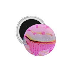 Cupcakes Covered In Sparkly Sugar 1 75  Button Magnet