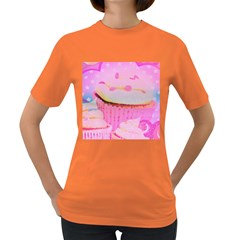 Cupcakes Covered In Sparkly Sugar Women s T Shirt (colored)