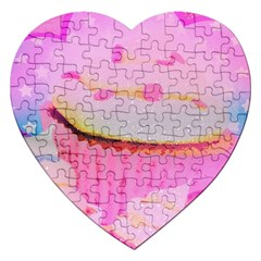 Cupcakes Covered In Sparkly Sugar Jigsaw Puzzle (Heart)