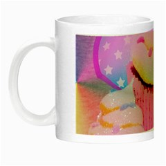 Cupcakes Covered In Sparkly Sugar Glow In The Dark Mug
