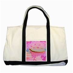 Cupcakes Covered In Sparkly Sugar Two Toned Tote Bag