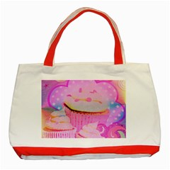 Cupcakes Covered In Sparkly Sugar Classic Tote Bag (Red)