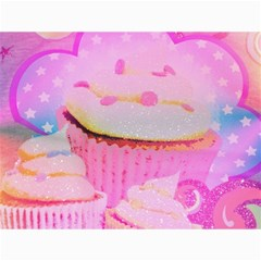 Cupcakes Covered In Sparkly Sugar Canvas 12  x 16  (Unframed)
