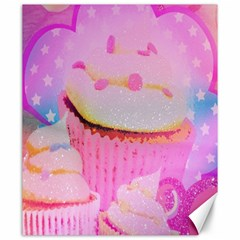 Cupcakes Covered In Sparkly Sugar Canvas 20  x 24  (Unframed)