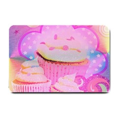 Cupcakes Covered In Sparkly Sugar Small Door Mat