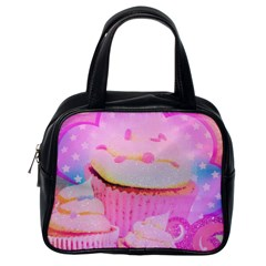 Cupcakes Covered In Sparkly Sugar Classic Handbag (one Side)
