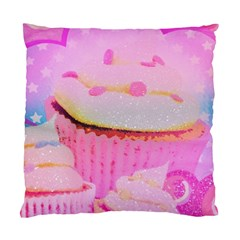 Cupcakes Covered In Sparkly Sugar Cushion Case (two Sided)