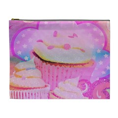 Cupcakes Covered In Sparkly Sugar Cosmetic Bag (xl)