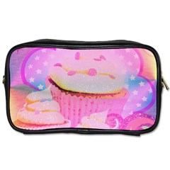 Cupcakes Covered In Sparkly Sugar Travel Toiletry Bag (Two Sides)