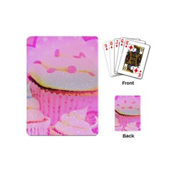 Cupcakes Covered In Sparkly Sugar Playing Cards (Mini)