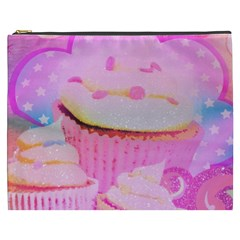 Cupcakes Covered In Sparkly Sugar Cosmetic Bag (xxxl)