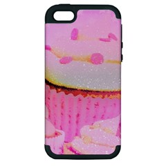 Cupcakes Covered In Sparkly Sugar Apple Iphone 5 Hardshell Case (pc+silicone)