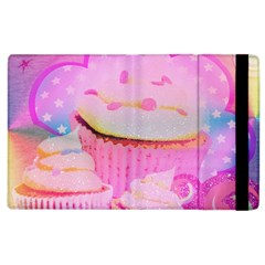 Cupcakes Covered In Sparkly Sugar Apple iPad 2 Flip Case