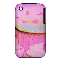 Cupcakes Covered In Sparkly Sugar Apple iPhone 3G/3GS Hardshell Case (PC+Silicone)