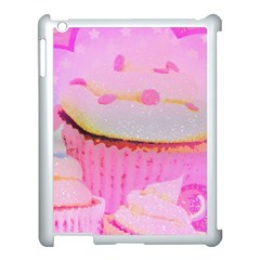 Cupcakes Covered In Sparkly Sugar Apple Ipad 3/4 Case (white)