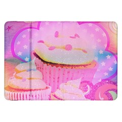 Cupcakes Covered In Sparkly Sugar Samsung Galaxy Tab 8 9  P7300 Flip Case