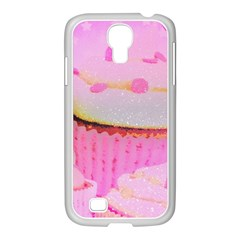 Cupcakes Covered In Sparkly Sugar Samsung GALAXY S4 I9500/ I9505 Case (White)