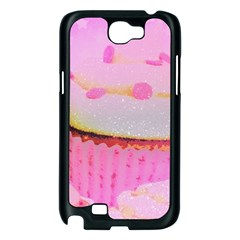 Cupcakes Covered In Sparkly Sugar Samsung Galaxy Note 2 Case (Black)