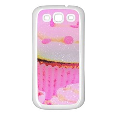 Cupcakes Covered In Sparkly Sugar Samsung Galaxy S3 Back Case (white)